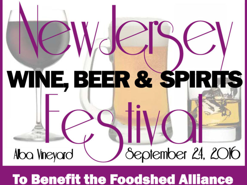 new jersey wine events -foodshed