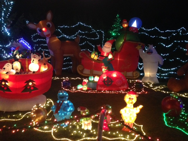My Weekend of Holiday Lights! - New Jersey Is not Boring