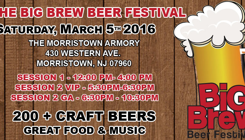 New Jersey Events - Big Brew