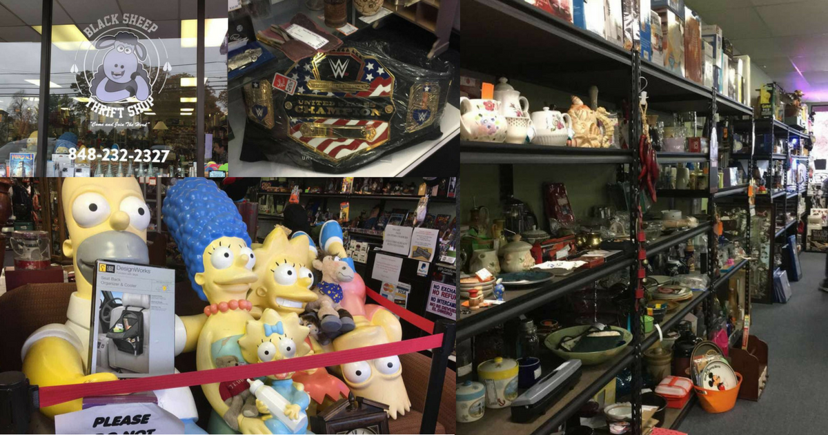 Black Sheep Thrift Shop In Brick New Jersey Ocean County